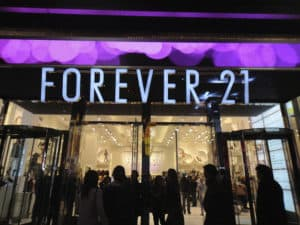 return item at forever 21 store