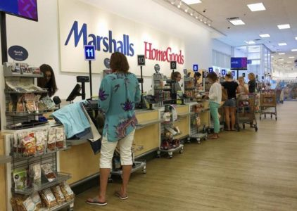 Marshalls store and HomeGoods Return Policy
