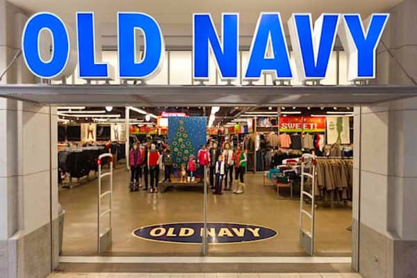 return an item to Old Navy store
