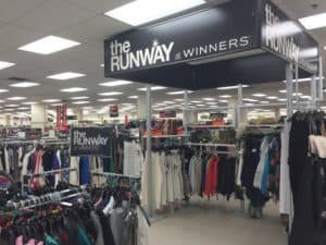 Winners Inside Store