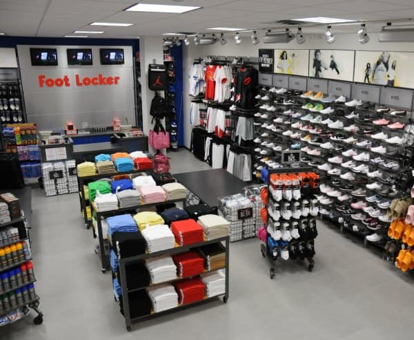 inside Foot Locker Store