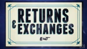 Returns and Exchange