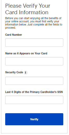 Best Buy Registering your Card