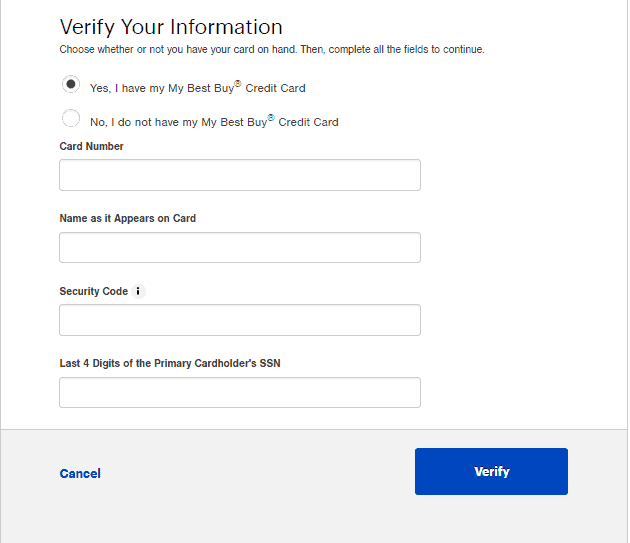 Best Buy Retreive User ID
