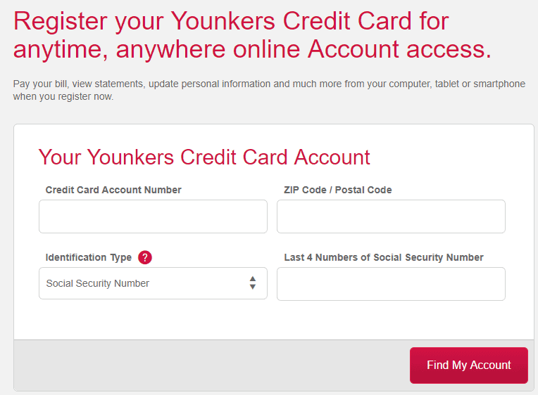 Activate Younkers Credit Card