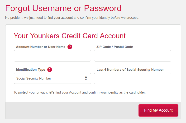 Younkers Credit Card Login  Activate Credit Card as well