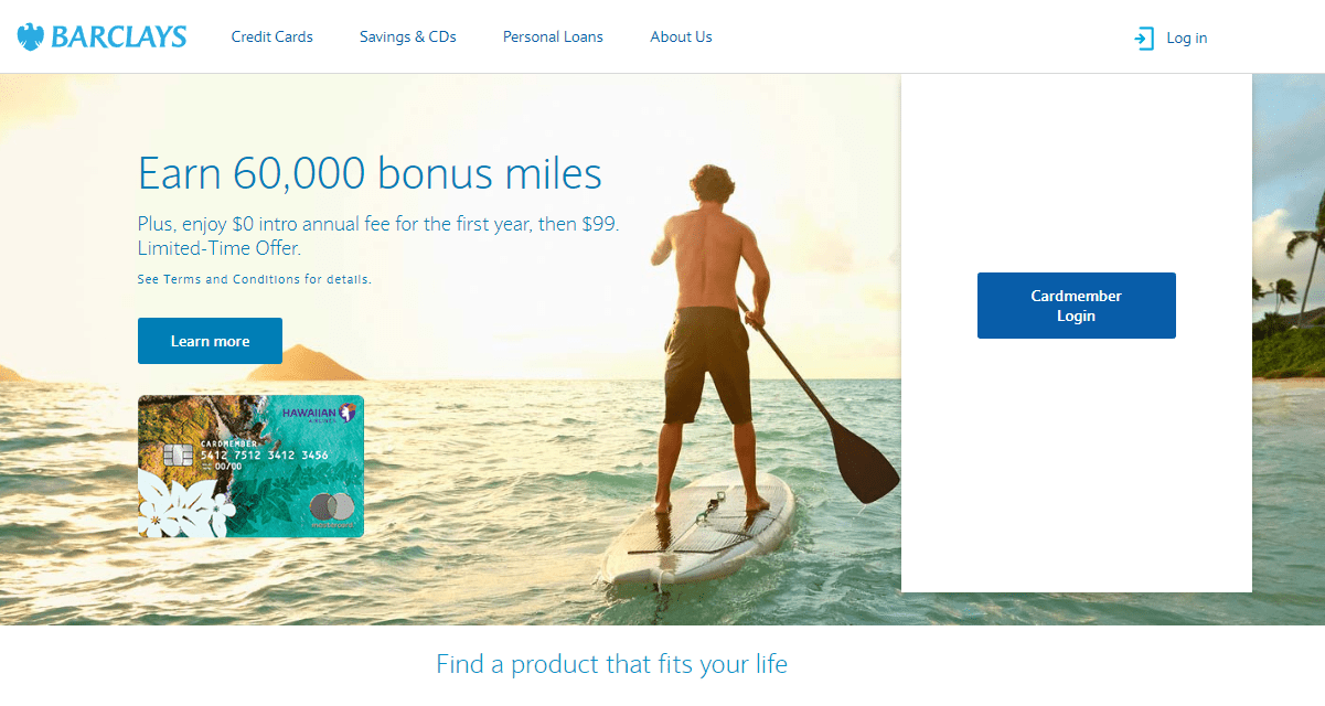 Priceline Credit Card Logfin