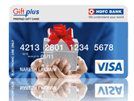 HDFC gift card