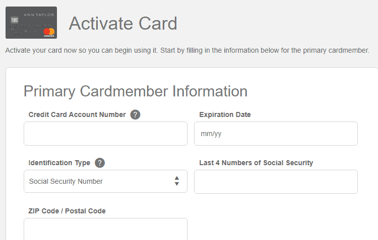 card activation
