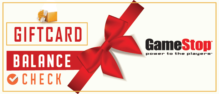 GameStop Gift Card Balance Check | Process shown step by step