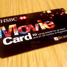 movie card hsbc
