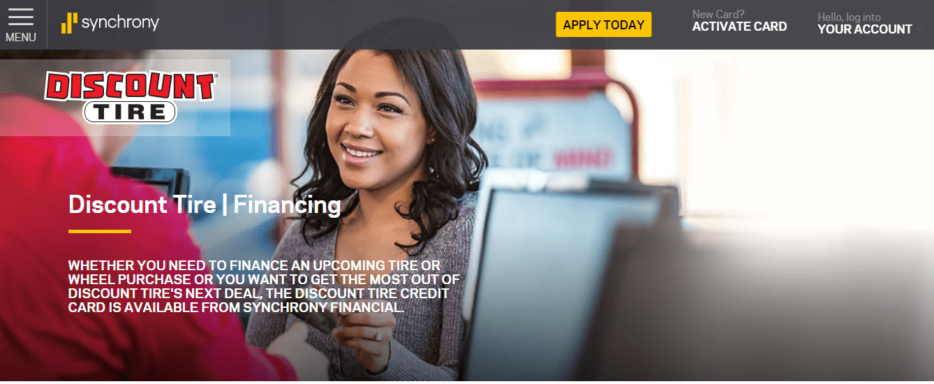 Apply for Discount Tire Credit Card Login
