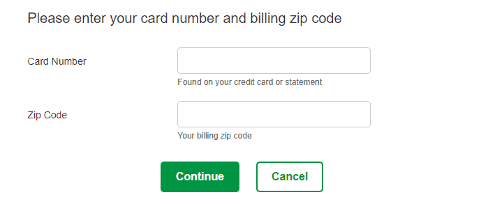 Register your Card