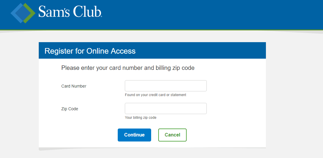 apply for sam's club credit card