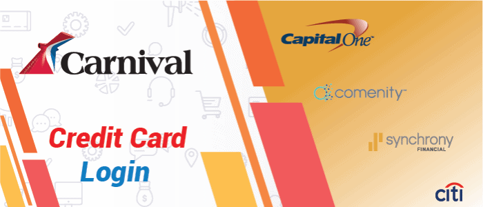 Carnival Credit Card Login and Activation Procedure